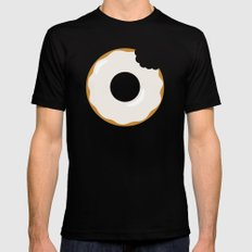 Sweet Victory (Better Known as a Donut) Mens Fitted Tee Black SMALL