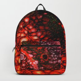Red Fire Lava Flow Backpack