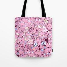 SO MANY PINK PUFFS Tote Bag