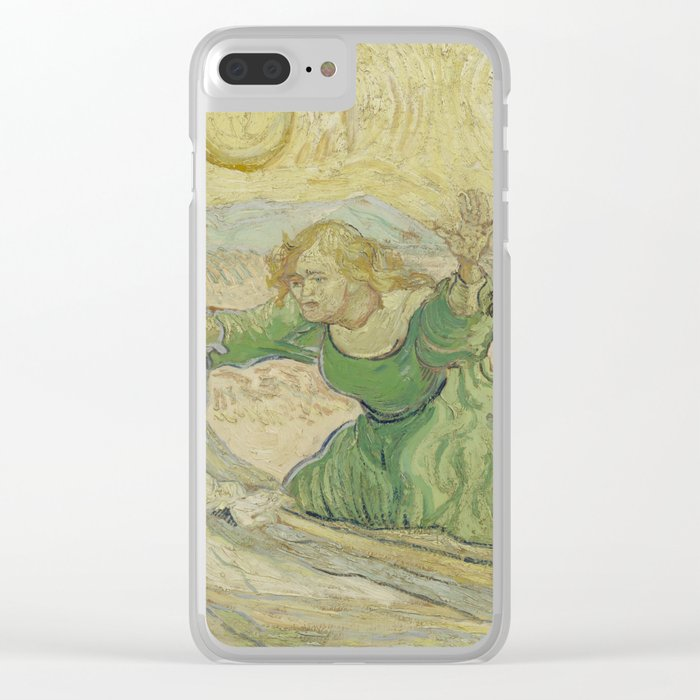 The Raising of Lazarus (after Rembrandt) Clear iPhone Case by vincentvangogh