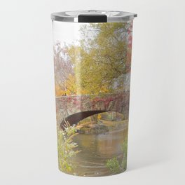 Fall in Central Park, NYC Travel Mug