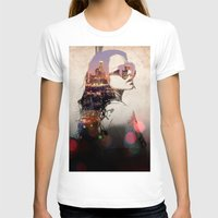 lindsay lohan T-shirts featuring LA - LOHAN by Tiaguh