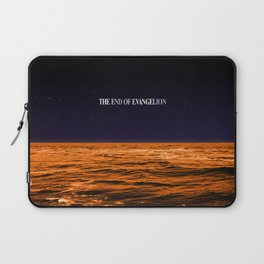 Movie Poster: The End of Evangelion Laptop Sleeve