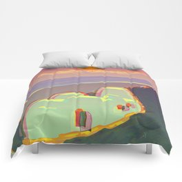 Red Moon Summer Vibrations Comforters