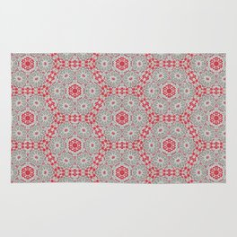 V28 Moroccan Pattern Design. Rug