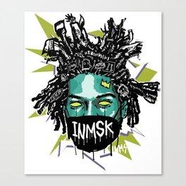 Halloween King of street Canvas Print