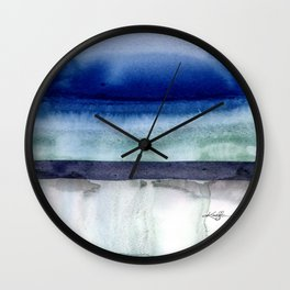 Introspection No. 1 by Kathy Morton Stanion Wall Clock