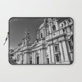 Piazza Navona, the ancient Stadium of Domitian, in Rome, Italy. Laptop Sleeve
