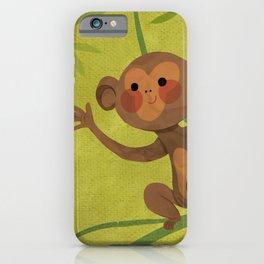 Cute Monkey iPhone Case