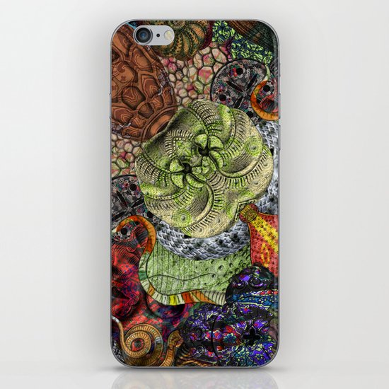 Psychedelic Botanical 10 iPhone & iPod Skin