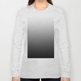 Simply Black & White Color Gradient - Mix And Match With Simplicity of Life Long Sleeve T-shirt