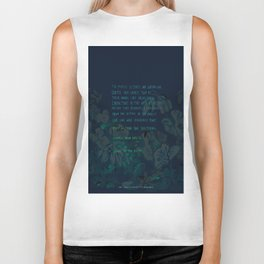 """""""Conquest of the Useless"""" by Werner Herzog Print (v. 4) Biker Tank"""