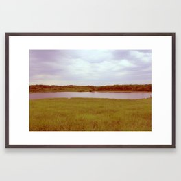 Pondside. Framed Art Print