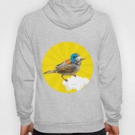 Little bird on little cloud 2 Hoody
