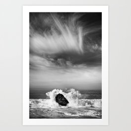 Crashing Wave Art Print