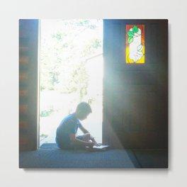 Chapel Light Metal Print