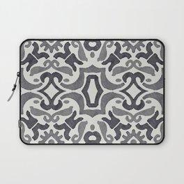 Black and White Tiles Laptop Sleeve