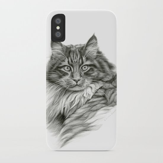 Ginger Cat G2012-052 iPhone Case