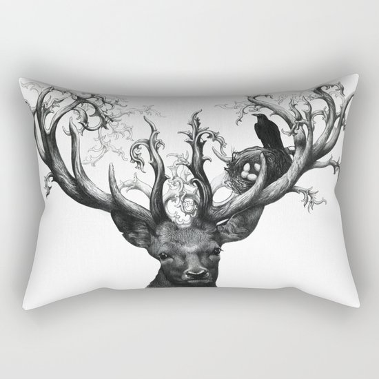 deer Rectangular Pillow