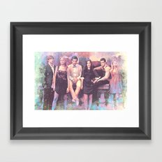 Gossip Girl American TV series Framed Art Print