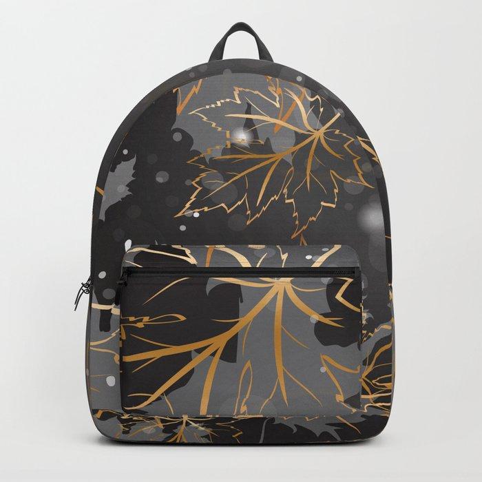 Leafy Background VI Backpack