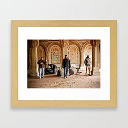 Central Park Singers Framed Art Print