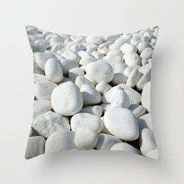 White stones Deko-Kissen