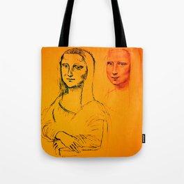 Mona Yellow Tote Bag