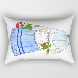 Spring Harvest Rectangular Pillow
