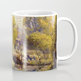 Classical African American Landscape Magnolia Gardens, Charleston, South Carolina by Edwin Harleston Coffee Mug