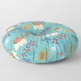 Happy Flowers Collection Floor Pillow