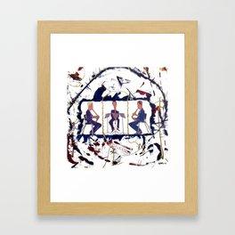 MOZART:  Divertimento for three Basset Horns     by Kay Lipton Framed Art Print
