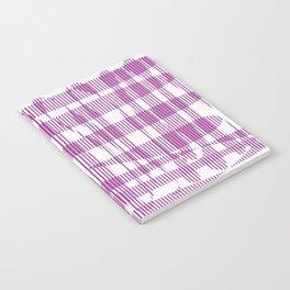 Purple/Violet Pattern Notebook