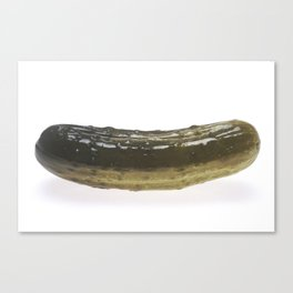 Dill Pickle Canvas Print