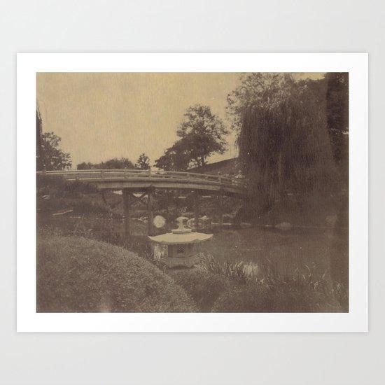 Japanese Bridge Art Print