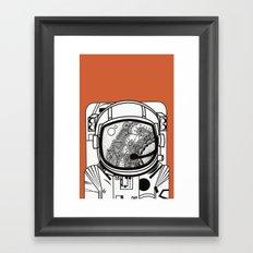 Searching for human empathy 1 Framed Art Print