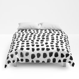 Watercolor Dots Comforters