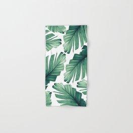 Tropical Banana Leaves Dream #3 #foliage #decor #art #society6 Hand & Bath Towel