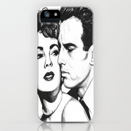Liz and a Beau iPhone Case