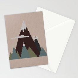 Misty Mountain Knit Stationery Cards