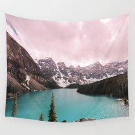 Moraine Lake Banff National Park Wall Tapestry