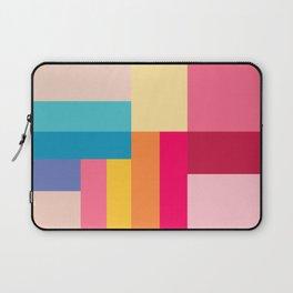 Color Stripes: Bubblegum Pink Laptop Sleeve