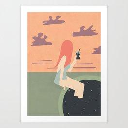 Tuffami II Art Print