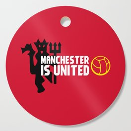 Manchester Is United Cutting Board
