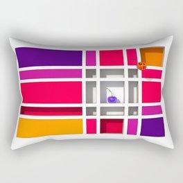 Abstract Glass Cherries 5 by THE-LEMON-WATCH Rectangular Pillow