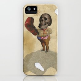 The Fighter iPhone Case