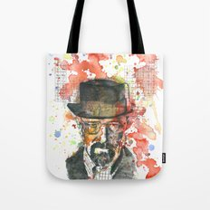 Walter White from Breaking Bad Tote Bag
