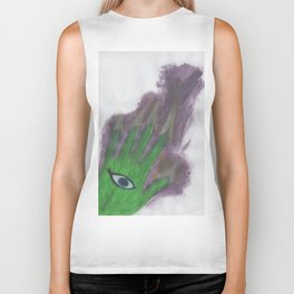 To See, To Feel Biker Tank
