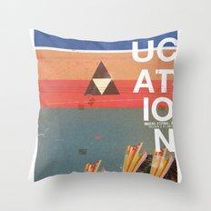 Education - prepare for your mind to be blown Throw Pillow