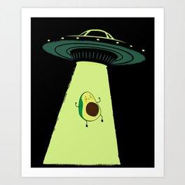 UFOcado Art Print